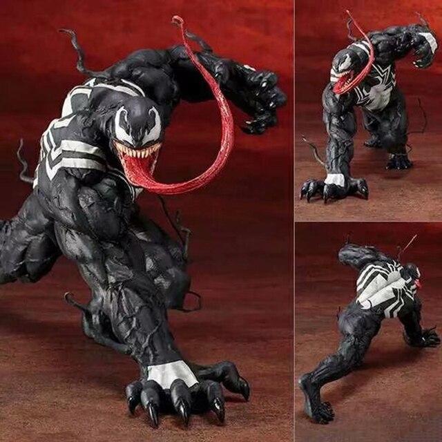 1/10 Escala 18 cm Os Vingadores Amazing Spiderman Venom Figura pré-pintado modelo kit Toy ARTFX Estátua Brinquedos Figurals