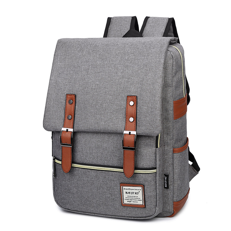 MAN ER WEI Women Famous Brand Laptop Backpack Fashion Men Bag Canvas Backpack Women Oxford Travel Bags Teenage Girls School Bags backpack fashion brand travel sports laptop for women and man school bag