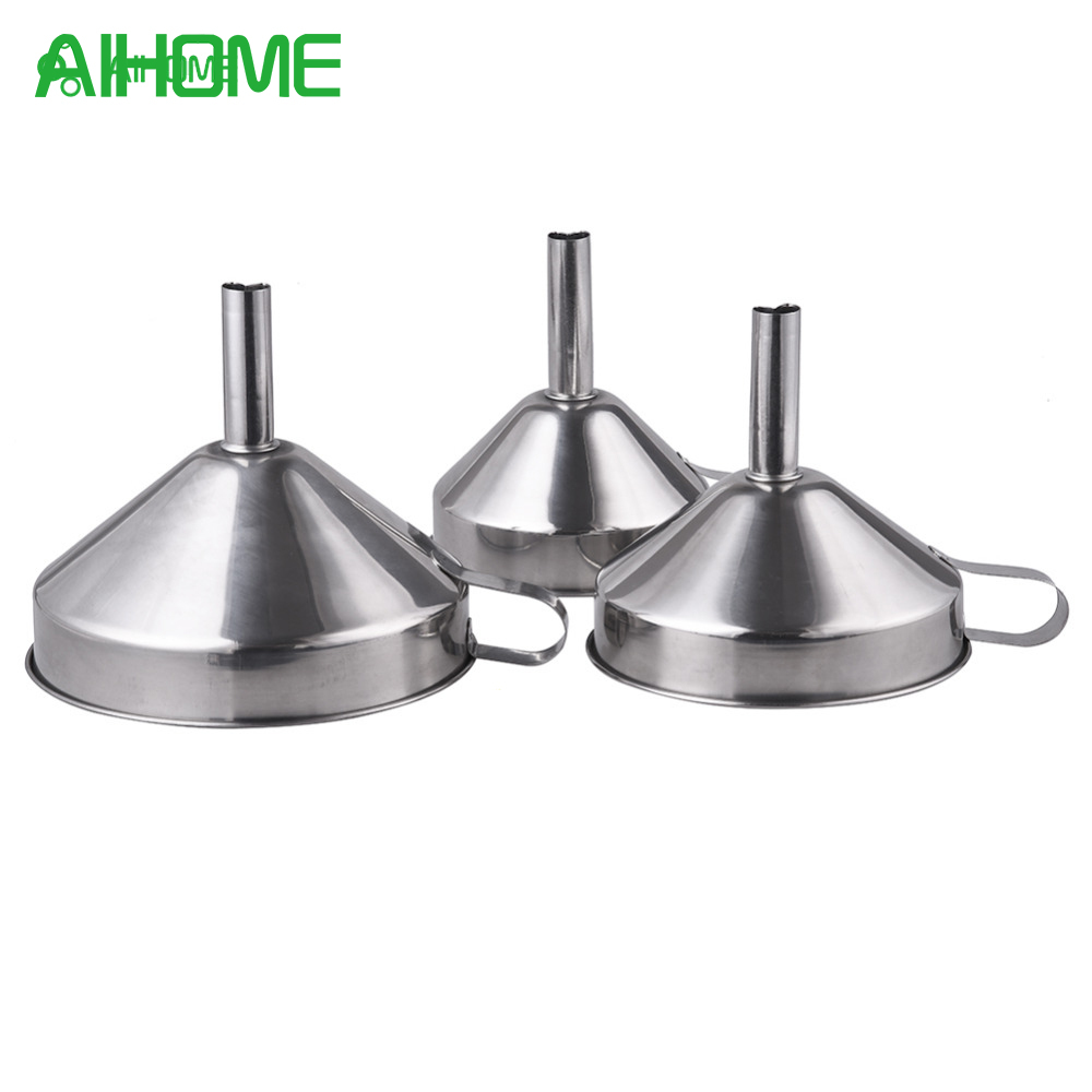Kitchen Funnel: 3pcs/set Kitchen Funnel Accessories For Transferring