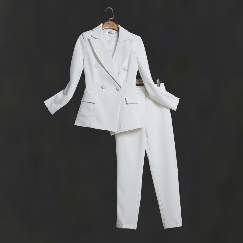Suit Casual Suit Female 2020 New Early Spring New Slim Professional Suit Female Ol European Station Small Suit Jacket
