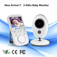 Special Offer Wireless LCD Audio Video Baby Monitor VB605 Nanny Music Baby Camera Temperature Display Babysitter