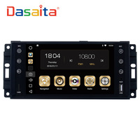 Dasaita 7 Android 8 0 Car GPS Radio Player For Jeep Chrysler Dodge With Octa Core