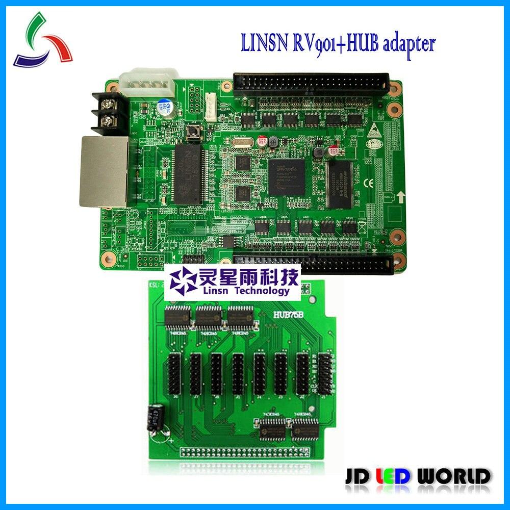 Карта приема светодиодного экрана RV901, P3,P4.P5,P10,P16,P20 полноцветная светодиодная карта приема экрана