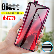 2Pcs/lot Redmi K20 Pro Tempered Glass Screen Protector Full Cover Glue For Xiaomi Safety