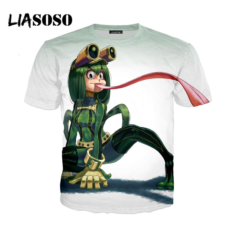 LIASOSO NEW Anime Boku No Hero My Hero Academia Cosplay Tees 3D Print t shirt/Hoodie/Sweatshirt Unisex Good Quality Tops G1374