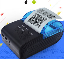 2Inch Standby 5802 Android 4 2 2 Bluetooth Wireless Mobile 58mm Mini takeaway Thermal Receipt Printer