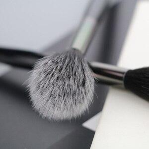 Image 3 - BEILI 1 piece Black Professional Synthetic Makeup brushes Highlighter Blending Blush Eyebrow Eyeliner make up brushes