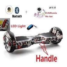 Elektrisches skateboard mit TOP Led-leuchten hoverboard balance roller selbstausgleich roller hooverboard gyroscooter cent bord