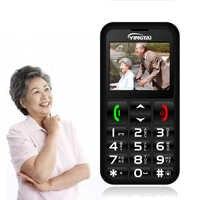 Teléfono Móvil Senior teclado ruso grande teléfono pulsador de alta calidad mejor para hombre mayor antorcha FM YINGTAI T11 Elder celular