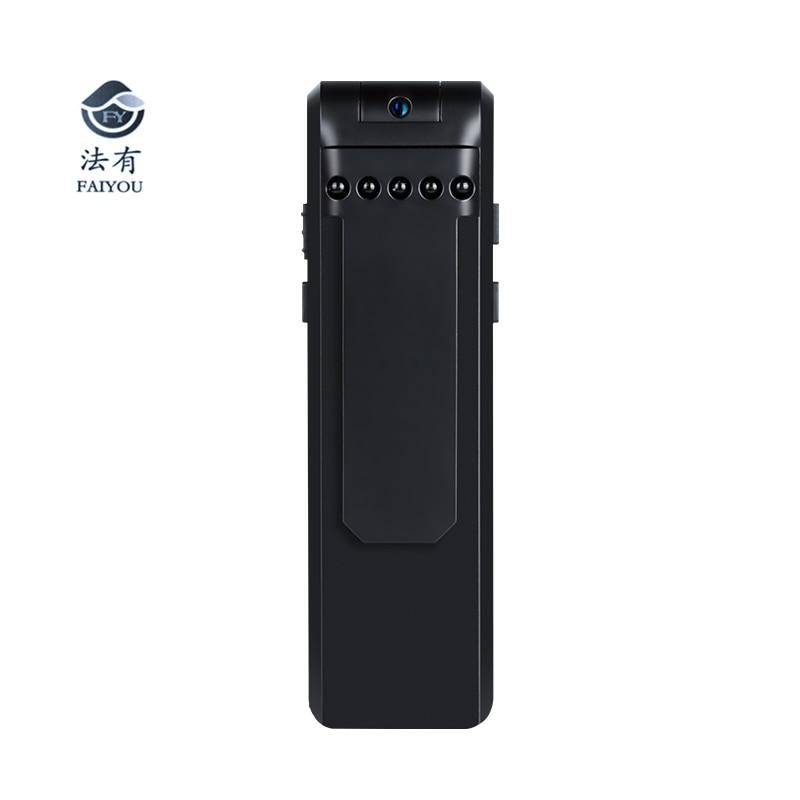 1080P Police Body Lapel Worn Video Camera DVR IR Night Vision Voice Control Digital Pen Recorder 180 Degree Lens Rotation|Surveillance Cameras| |  - title=