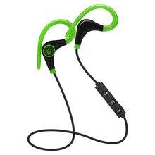 hot deal buy ear hook wireless bluetooth earphones sports sweatproof wireless earphones  headphones hands-free call built-in microphone