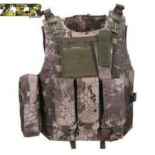 Unloading Men Tactical Outdoor Hunting Camouflage Vest Multi-Pocket Waistcoat Male Sleeveless Solid Vest Masculino Jacket(China)
