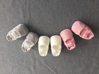 Newborn Todddeler Baby Shoes Pink Walk Shoes Christening Shoes Baptism Wedding Flower Girl Shoes