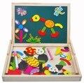 Escritura Sketchpad rompecabezas niño magnética lucha lucha de la música juguetes de madera Montessori educativos para la primera infancia fuerza 1-3-4 años de edad