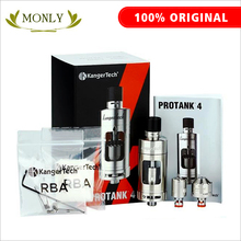 Kanger Protank 4 clearomizer EVOLVED 5ml with adjustbale airflow drip tip vaporizer kit SSOCC with dual