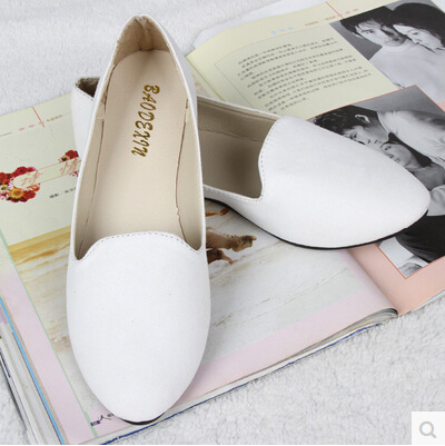b77c232c9f Ladies Shoes Ballet Flats Women Flat Shoes Woman Ballerinas Black Large Size  43 Casual Shoe Sapato Womens Loafers Zapatos Mujer - free shipping worldwide