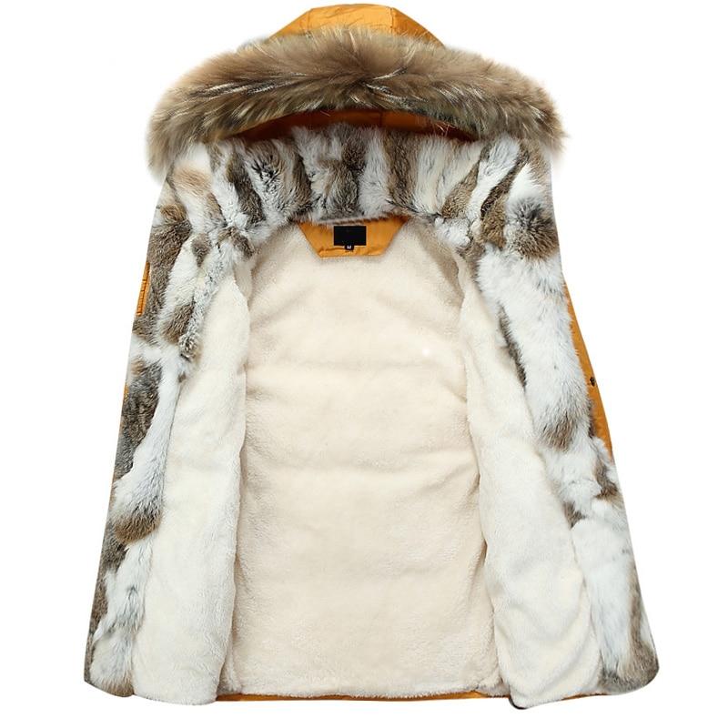 b32d76539 HOT SALE] Waterproof Women Long Parka Natural Raccoon Fox Fur Collar ...