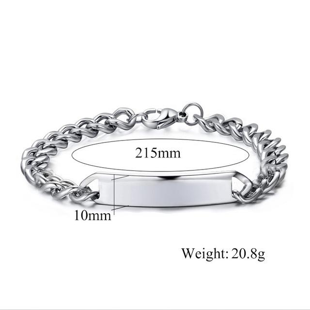 Customized Love Bracelet 316l Stainless