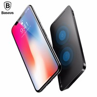 Baseus 10W Wireless Charger For IPhone X 8 Plus Samsung Note8 S8 S7 Edge Mobile Phone
