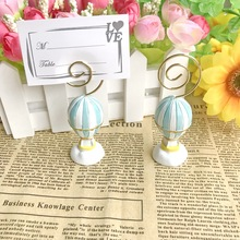 Table-Decoration-Supplies Air-Balloon Baby-Shower-Favors Wedding Place-Card-Holder Hot