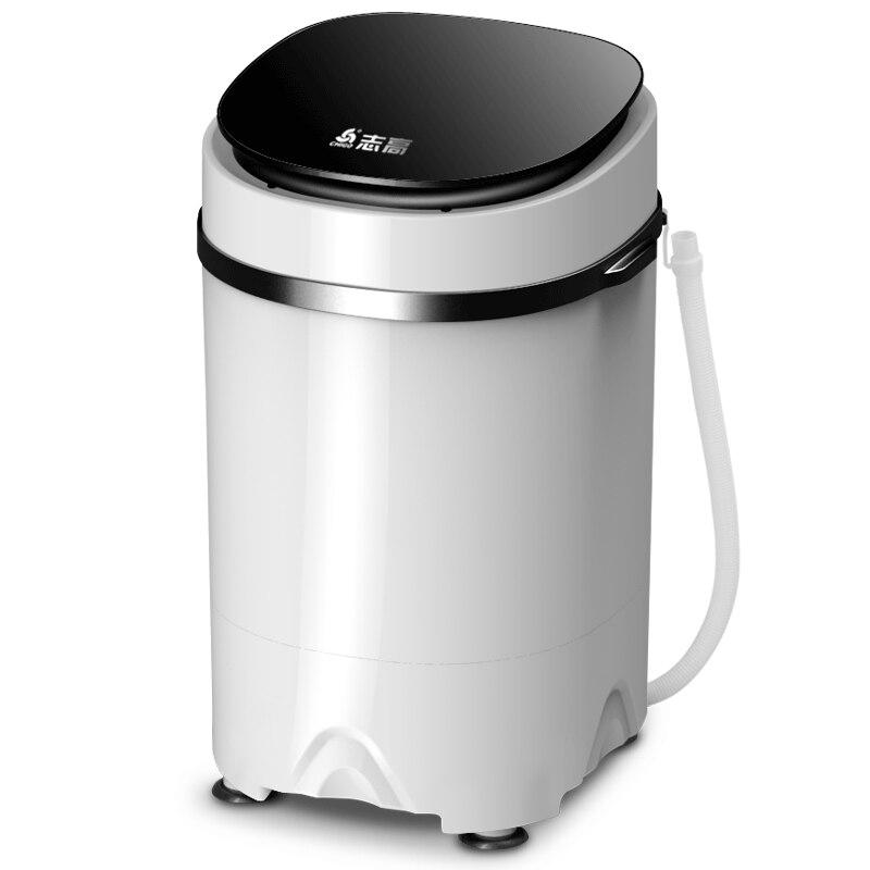 CHIGO 3.8kg Capacity Mini Portable Washing Machine UV Antibacterial Cloth Wash Machine Semi-automatic Laundry Dehydration Washer