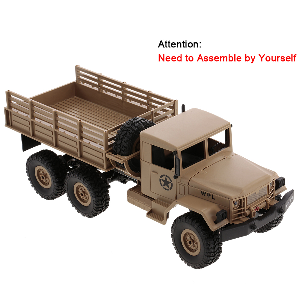 B 16k 116 6wd assembly diy car military rc car truck off road b 16k 116 6wd assembly diy car military rc car truck off road crawler solutioingenieria Gallery