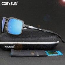 Cosysun Merk Gepolariseerde Zonnebril Mannen Rijden Zonnebril Polaroid Merk Designer Mannen Zonnebril Gafas De Sol Masculino 9612