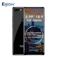 OUKITEL MIX 2 4G Smartphone 5 9 18 9 Full Screen Android 7 0 Helio P25