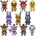 5 夜でフレディの 5 ピース/セットアクションフィギュアアニメ塩ビ人形 FNAF 人形悪夢チカボニーフォクシーフレディ 5 fazbear クマのおもちゃ