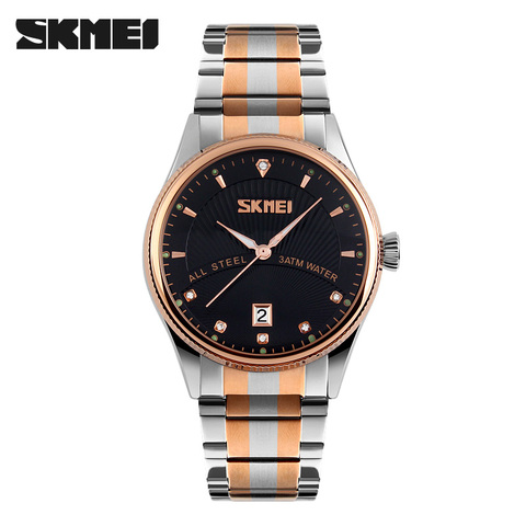 2019 Watches men luxury brand Skmei quartz watch men full steel wristwatches dive 30m Fashion sport watch relogio masculino Lahore