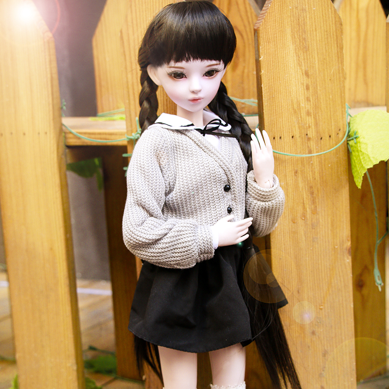 Handmade 1/3 Bjd Dolls 58cm Fashion Clothing Girl Doll 23 Jointed Large Dolls Kids Girls Toys Birthday Christmas Gift 60cm bjd 1 3 dolls 23 inches handmade fuyao baiqian huaqiangu doll large joint sd princess doll girls toys birthday gift