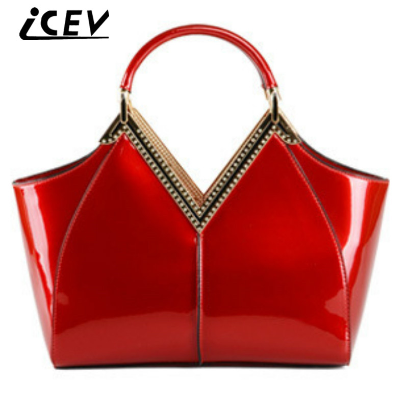 Online Get Cheap Red Patent Leather Handbag -Aliexpress.com ...