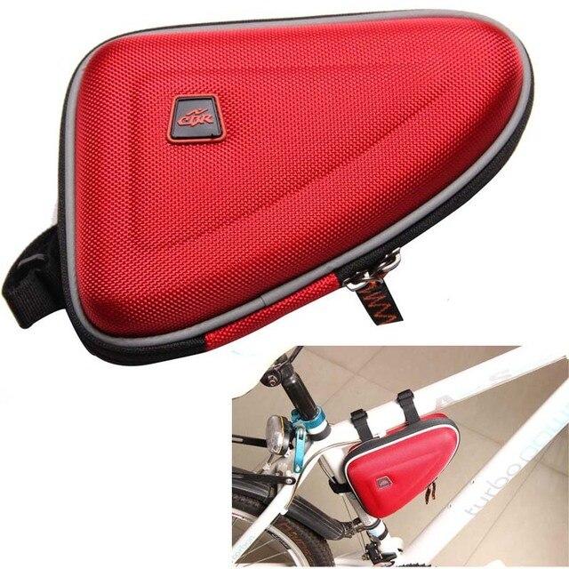 CBR bolsa de tubo de bicicleta MTB Road Bike bolsa impermeable 1.5L al aire libre triangular ciclismo bicicleta tubo bolsa de bicicleta 3 colores