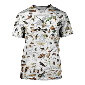 All Over Printed Insects T-shirt