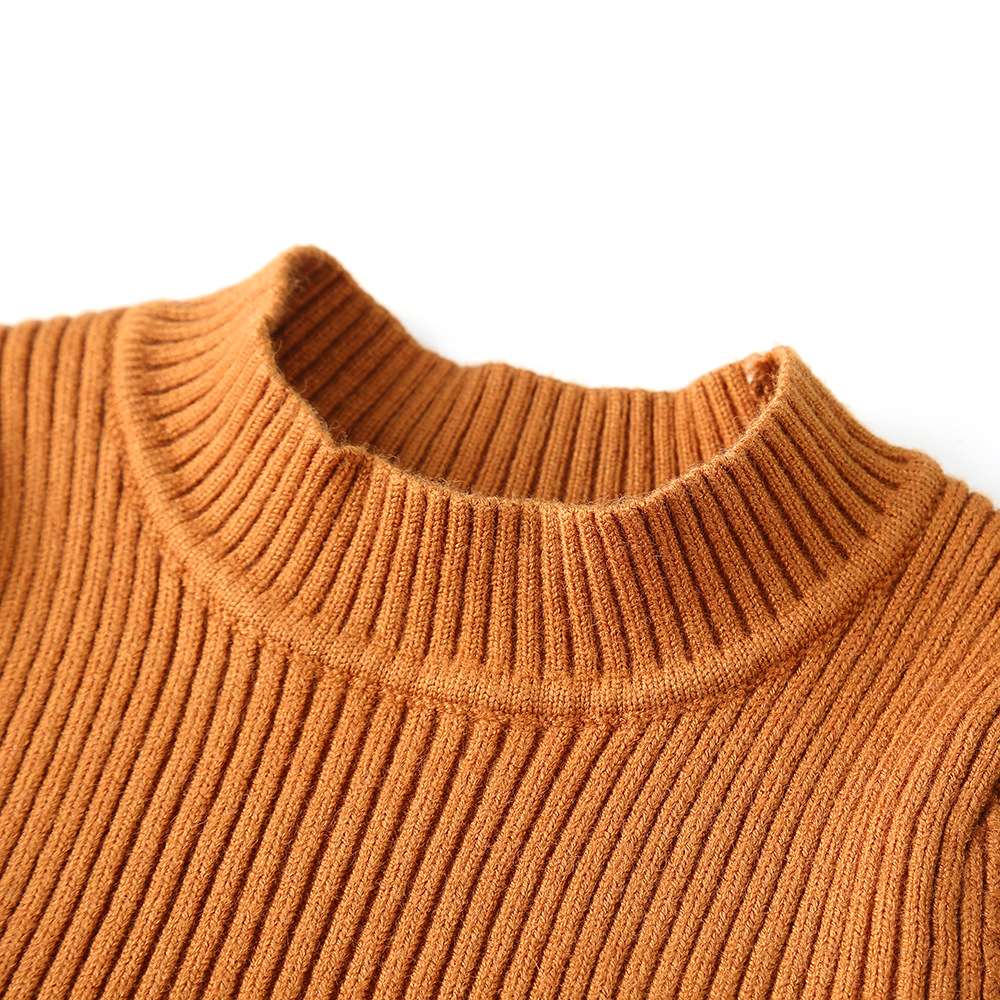Image 4 - 2019 Autumn Winter Girls Wool Knitted Sweater Baby Girl dress Girls Dresses For Party And Wedding Baby Girl Clothes-in Dresses from Mother & Kids