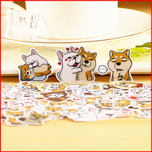 40 pcs Corgi love dog personalized scrapbook Stickers scrapbooking material sticker happy planner decoration craft