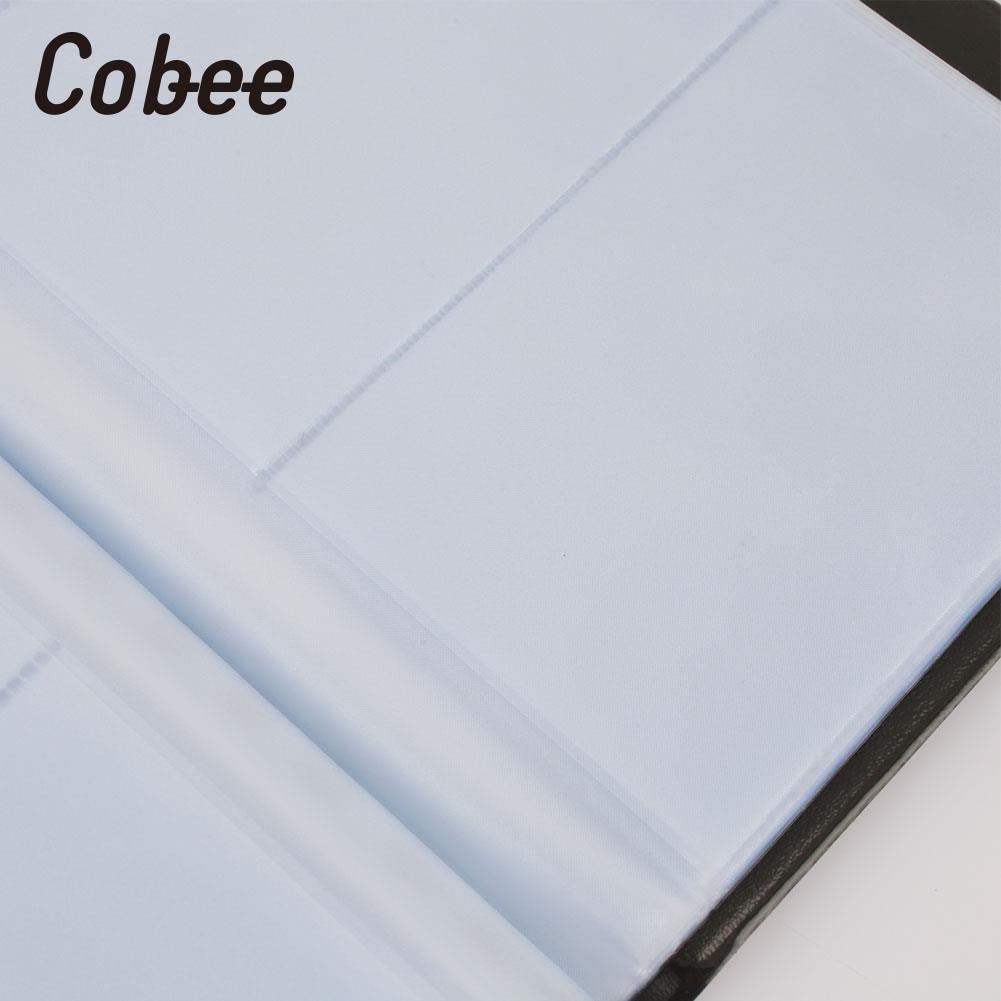 300 Sheets ID Card Holder Credit Card Holder ID Card Case Name Card Book Personalized Business Multifunctional high quality 480 cards loose leaf business card book business name id credit card holder book case keeper organizer 5797