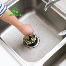 JiangChaoBo Stainless Steel Kitchen Sewer Sink Filter Bathroom Plug Hair Anti-blocking Floor Drain