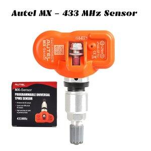 Image 5 - Autel TPMS أداة MX الاستشعار 433MHZ 315MHZ سيارة الإطارات أداة إصلاح برنامج استشعار ضغط الإطارات بواسطة MaxiTPMS الوسادة TS401 TS601 MK808 TS