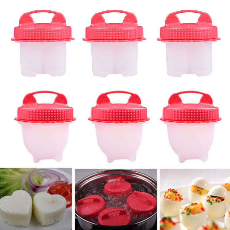 3 шт./партия, инструмент для заварки яиц, легкая яичная плита, котел, портативные вареные кастрюли для варки яйца-пашот, чашка на пару, кухонны...
