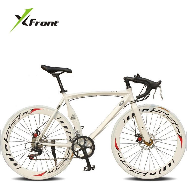 Αρχικό μάρκα X-Front μάρκα Bend αυτοκινητόδρομο δισκόφρενο 700c 14 ποδηλάτων ταχύτητας ποδηλάτων αλουμινίου αλουμινίου bicicleta αγωνιστικό ποδήλατο