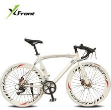 Original X Front brand Bend highway disc brake 700c 14 speed road bike aluminum alloy bicicleta