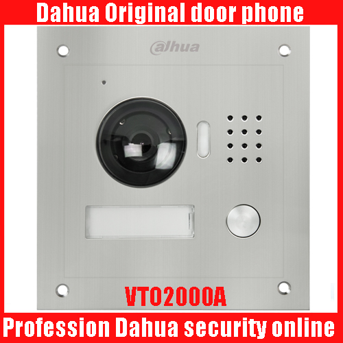 Dahua DH-VTO2000A IP Metal Villa Outdoor Station Video Door Phone VTO2000A POE Outdoor Station Video Door bell DHI-VTO2000A ...