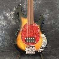 Наличии высокого качества электрический бас Гитары, музыкант 4 бас гитары, реальные фото Бесплатная доставка