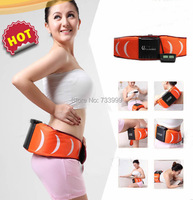 Dual function EMS Acupuncture slimming vibration belt Anti Cellilute Fat Burner Abdominal Muscle Trainer Abdominal Stimulator