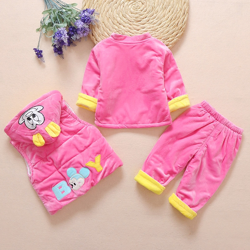 e13430a11 2017 New Arrival Autumn Winter Baby Girl Clothes for Kids Girls Clothes  Accessories Newborn Baby Girls Clothing Set 3pcs Sets-in Clothing Sets from  Mother ...