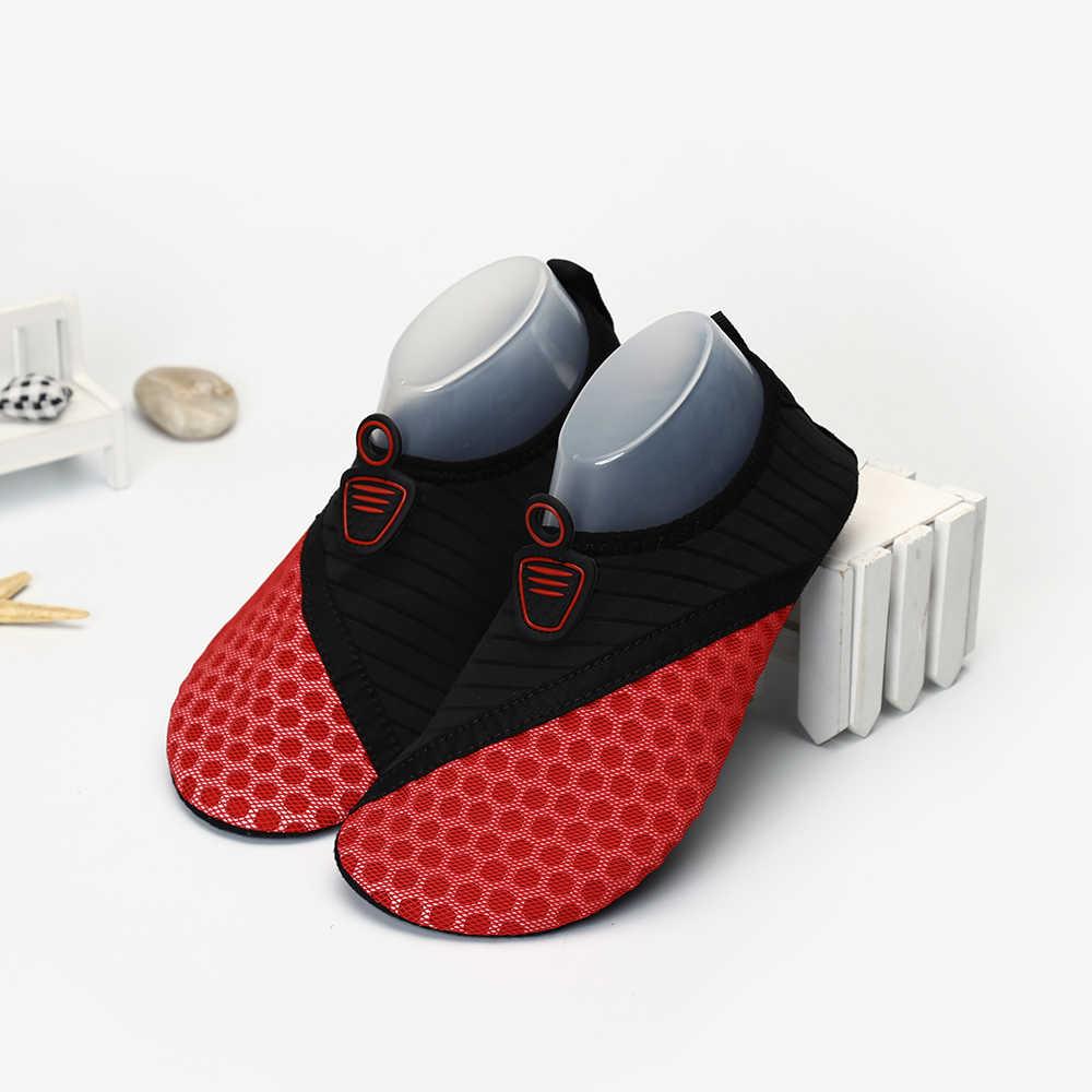 78a7dfacef054 ... Zapatilla zapatos para la natación mar Aqua nadar Surf agua descalza  botines zapatos de playa Mujer