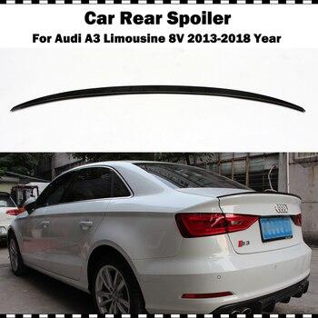 S3 Style Serat Karbon Belakang Sayap untuk Audi A3 Limusin Sedan 2014-2018 A3 S3 8V CF styling Rear Spoiler Wing