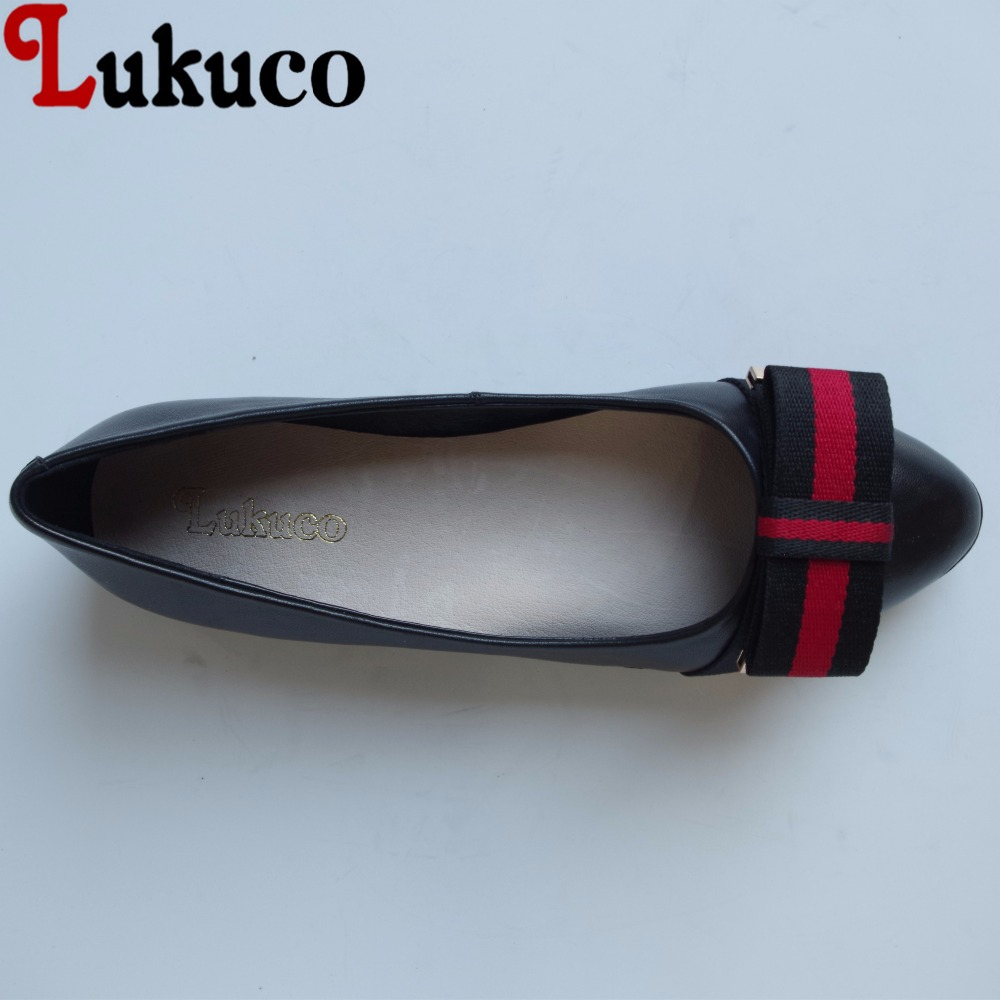 Lukuco mixed color butterfly-knot design pointed toe women boat flats microfiber made slip-on shoes with pigskin inside lukuco pure color women mid calf boots microfiber made buckle design low hoof heel zip shoes with short plush inside