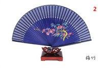 Nowa Moda W Stylu Vintage Mini Wentylator Chłodzenia Chińskich Fanów Składane Fanów Strony Ślubne Ręcznie Wystrój Wentylatory Rzemiosła Prezent Dla Wommen TY23